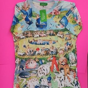 iSWAG graphic print shirt size Large